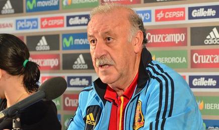 Vicente del Bosque, en rueda de prensa. | EFE