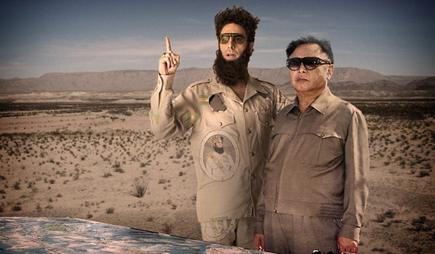 Sacha Baron Cohen es El dictador, ya en cines