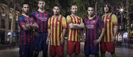 Nike ha presentado las nuevas equipaciones del FC Barcelona. | Nike