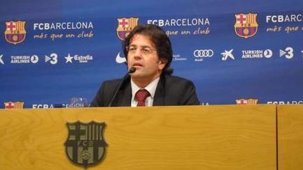 Toni Freixa, portavoz de la Junta Directiva del Barcelona. | Archivo