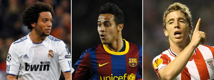 Marcelo (i), Thiago (c) y Muniain (d) son algunos de los nombres de la polémica.