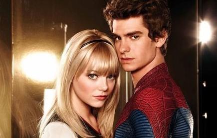 Andrew Garfield y Emma Stone, en The Amazing Spider-Man