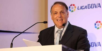 Javier Tebas, presidente de la LFP. | Archivo