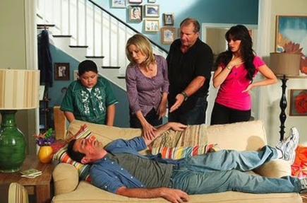 Algunos de los protagonistas de Modern Family