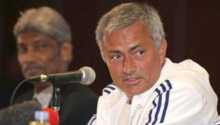 José Mourinho, en rueda de prensa en Malasia. | EFE