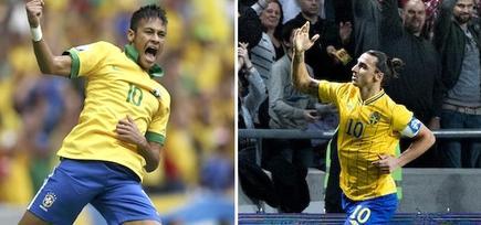 Neymar e Ibrahimovic, candidatos al Premio Puskas. | LD