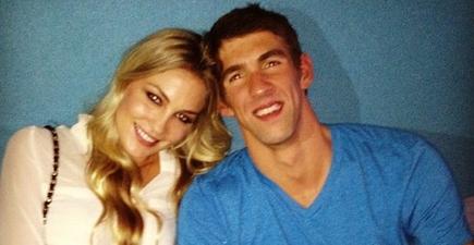 Megan Rossee y Michael Phelps   @meganrossee