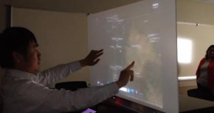 Übi ha conseguido hacer de cualquier superficie una pantalla táctil | Wired.co.uk