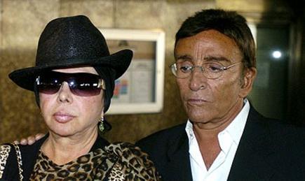 Marujita y el actor Pepe Rubio