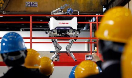 El robot durante su presentación ante los medios. | Cordon Press