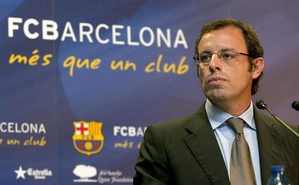 Sandro Rosell, presidente del Barcelona. | Archivo