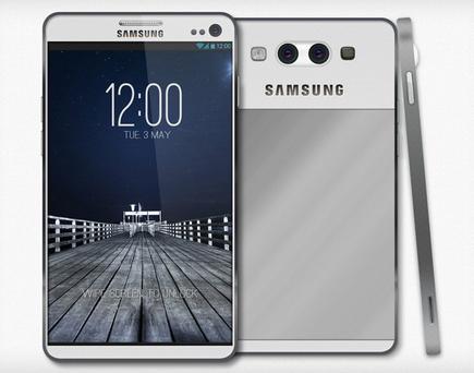Una de los diseños falsos del Samsung Galaxy S4 que circulan por la red