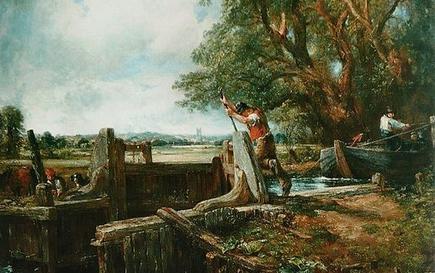 El cuadro The Lock, de John Constable