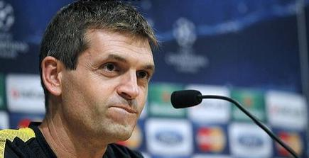 Tito Vilanova, en rueda de prensa. | Cordon Press
