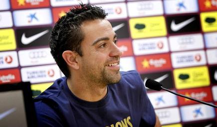 Xavi, jugador del Barcelona. | Archivo