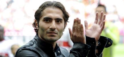 La despedida de Hamit Altintop. | Archivo