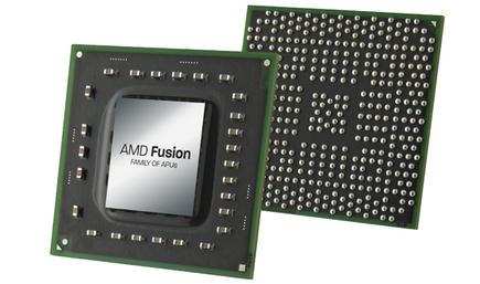 Procesador AMD Fusion