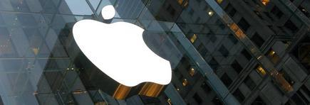Logotipo de Apple en su tienda de la Quinta Avenida de Nueva York. | Rob Pongsajapan/cc-by-2.0