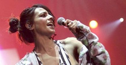 La cantante Bebe | Archivo