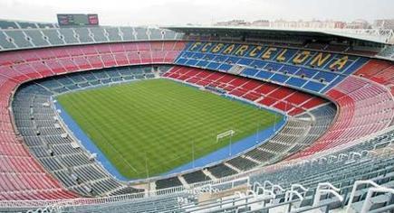 Vista aérea del Camp Nou.   Archivo