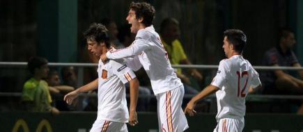 Los jugadores celebran el tanto del empate| EFE