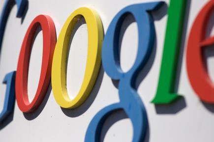 Logotipo de Google en su sede. | Flickr/CC/Marcin Wichary