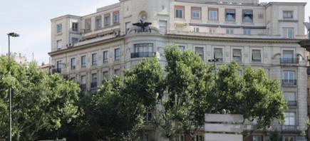 El inmueble en la Plaza de la Independencia madrileña | Googlemaps