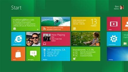Así será Windows 8.   Microsoft