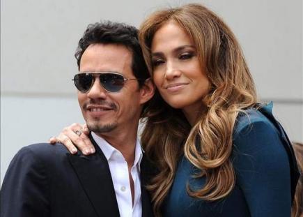 Marc Anthony y Jennifer López. | Archivo