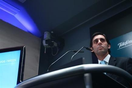 José María Álvarez Pallete, presidente de Telefónica para Europa.