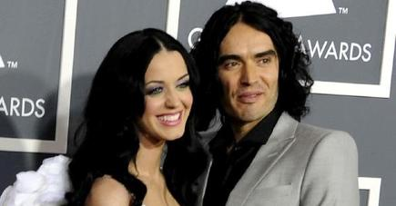 Katy Perry y Russell Brand | Efe