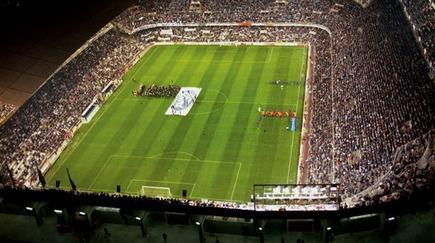 Vista aérea del estadio de Mestalla. | Archivo