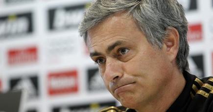 Mourinho, durante la rueda de prensa. | EFE
