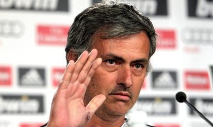 José Mourinho, durante la rueda de prensa previa al partido ante el Getafe. | EFE