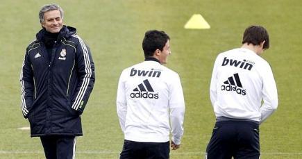 José Mourinho dirige un entrenamiento en Valdebebas. | Archivo
