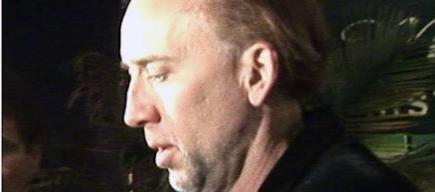Nicolas Cage fuera del calabozo | Foto: TMZ