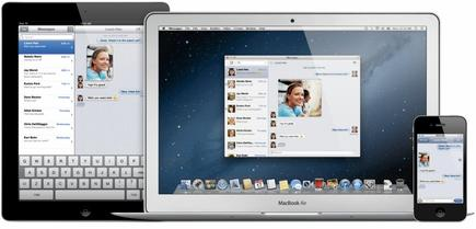 La aplicación de mensajería Messages sustituye a iChat. | Apple