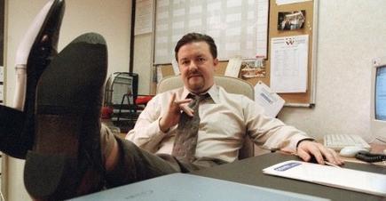Ricky Gervais en The Office