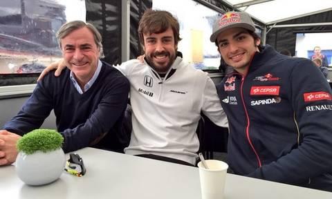 Carlos Sainz Jr. se mira en el espejo de Fernando Alonso ...