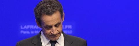 Sarkozy, durante su comparecencia | Efe