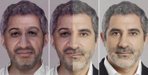 Llamazares, el retrato robot de Ben Laden y la extraña coincidencia.