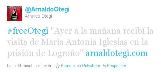 María Antonia Iglesias visita a Otegi en la cárcel Twitter-otegi-maria-antonia-iglesias