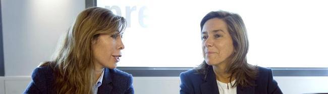 Ana Mato, junto a Sánchez Camacho en el Comité Ejecutivo | EFE