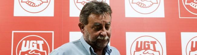 El ya ex líder de UGT-A, Francisco Fernández | Archivo