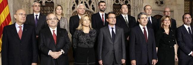 El nuevo gobierno catalán | EFE