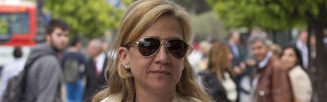 La infanta Cristina, en Barcelona este martes | EFE