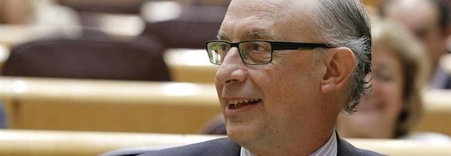 Cristóbal Montoro este martes en el Senado | EFE