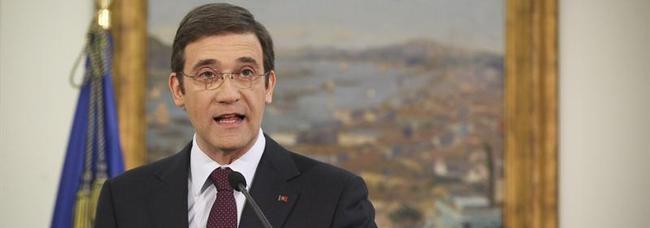 El nuevo primer ministro portugués, Pedro Passos Coelho en su comparecencia de este domingo| EFE