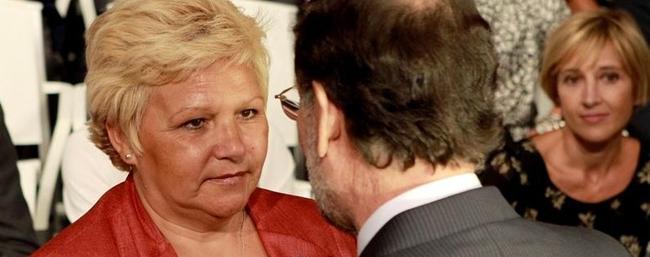 Frío saludo de Pedraza con Rajoy y el ministro del Interior |  EFE