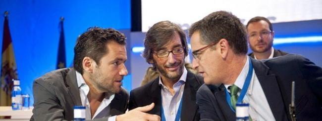 Borja Sémper, Iñaki Oyarzábal y Antonio Basagoiti en una imagen de archivo | EFE